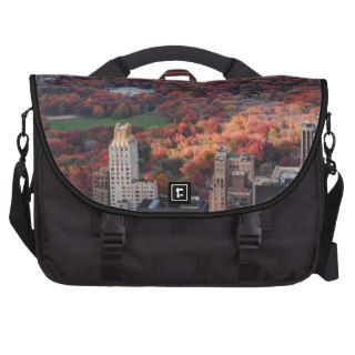 A view above Autumn in Central Park 01 Bags For Laptop