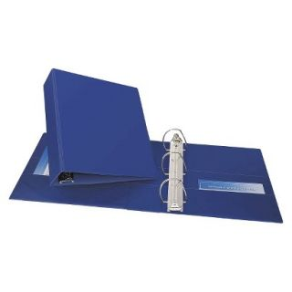 Avery Durable Binder with Two Booster EZD Rings, 3 Capacity   Navy Blue