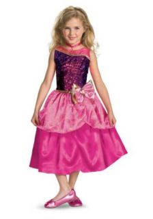 Barbie Princess Charm School Deluxe Child Costume Size 7 8 Clothing