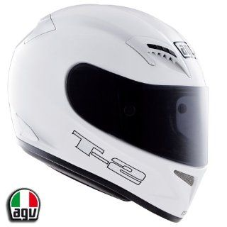 AGV T 2 Motorcycle Helmet Solid White 3X AGV SPA   ITALY 0351O4A0001012: Automotive