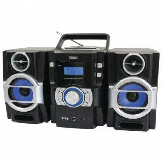 NAXA NPB429 Portable CD/ Player with PLL FM Radio, Detachable Speakers & Remote  Personal Cd Players   Players & Accessories