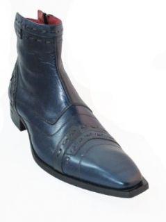 Joe Ghost Men's Italian Dressy Leather Boots 442 Shoes