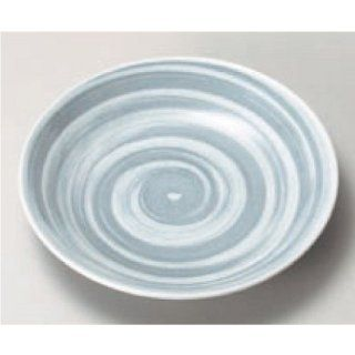 sushi plate kbu322 21 452 [4.85 x 0.91 inch] Japanese tabletop kitchen dish 3.5 round dish set plate gray volume [12.3x2.3cm] Japanese restaurant inn restaurant business kbu322 21 452 Sushi Plates Kitchen & Dining