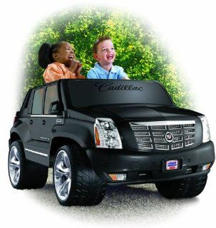 Power Wheels Cadillac Escalade EXT 12V Electric Ride On Truck  N9522: Toys & Games