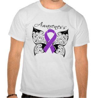 Tattoo Butterfly Awareness   Lupus T shirt