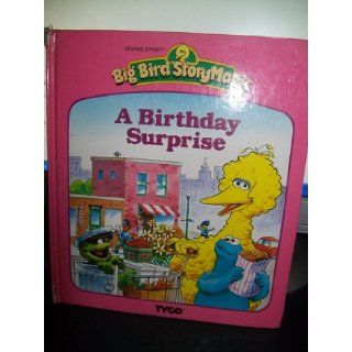 A Birthday Surprise (Sesame Street) (Big Bird Story Magic): Michaela Muntean, Tom Brannon: Books