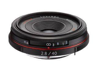 Pentax K Mount HD DA 40mm f/2.8 40 40mm Fixed Lens for Pentax KAF Cameras (Limited Black) : Camera Lenses : Camera & Photo