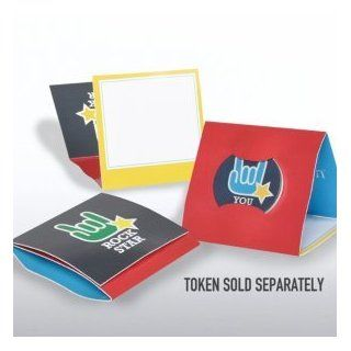 Tokens of Appreciation Envelope Cards   You Rock Star : Greeting Cards : Office Products