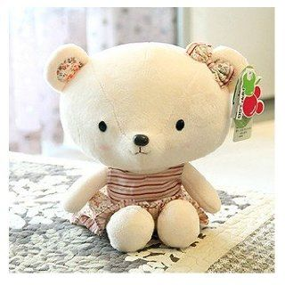 Cute Teddy Bear Plush Toy Doll Female Pastoral Style Birthday Gift for Children Toys & Games
