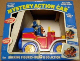 Walt Disney's Mickey Mouse Mystery Action Car with Donald Duck Toys & Games