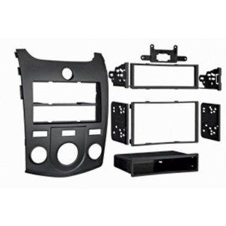 '10 Up Kia Forte/Kia Forte Koup Single Din and Double Din Radio Installation Kit  Black  Accessories Supplies