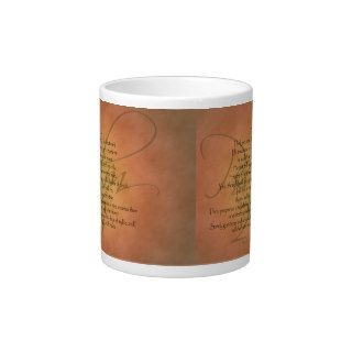 Psalm 23 KJV Christian Bible Verse Extra Large Mug