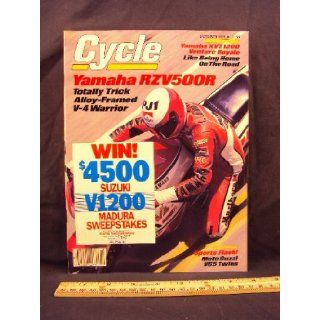 1984 84 October CYCLE Magazine (Features: Road Test on Yamaha Venture Royale & KTM 495 MX, + Mot0 Guzzi V65C, Moto Guzzi V65SP): Cycle: Books