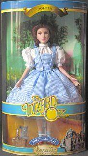"The Wizard of Oz Dorothy 12 1/2"" Porcelain Doll Brass Key Keepsakes Toys & Games"