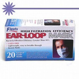 Ear loop Mask   20 Surgical Grade Air Filter Masks Health & Personal Care