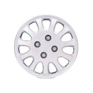 "Drive Accessories KT842 14SL PC 14"" Plastic Wheel Cover, Silver Lacquer (Alloy Color), Single Piece: Automotive"