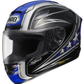 SHOEI X 12 STREAMLINER MOTORCYCLE HELMET BLUE/BLACK XL Automotive