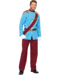Teen Costumes   Prince Charming Teen Mens Costume Medium: Adult Sized Costumes: Clothing