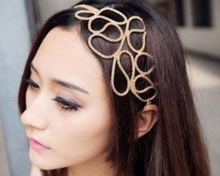 BONAMART ® Stylish Hollow Out Braided Stretch Hair Head Band Accessories Headband Hairband for Women Health & Personal Care