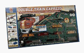 Double Train Express HO Scale Electric Train Set Toys & Games