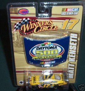 2008 Matt Kenseth #17 Dewalt Tools Ford Fusion Car of Today Tomorrow COT 1/64 Scale & 50th Running Daytona 500 Magnet 1/24th Scale Hood Winners Circle Toys & Games