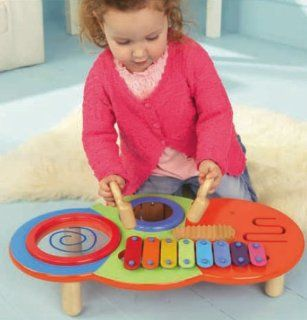 Toy Musical Instruments Children's Wooden Music Maker Toys & Games