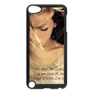 LADY LALA IPOD CASE, Ellie Goulding Hard Plastic Back Protective Cover for ipod touch 5th: Cell Phones & Accessories
