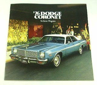 1976 76 Dodge CORONET BROCHURE Brougham Sedan and Wagon  Other Products