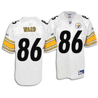 Reebok Pittsburgh Steelers Hines Ward Replica White Jersey Medium  Athletic Jerseys  Sports & Outdoors