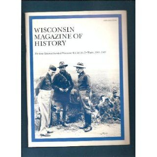 Wisconsin Magazine of History Vol 68, Number 2 Winter 1984 1985: Paul H. [editor] Hass: Books