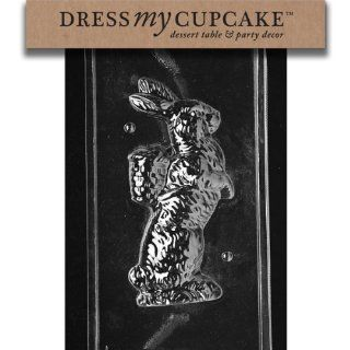 Dress My Cupcake DMCE301ASET Chocolate Candy Mold, Bunny Basket on Back, Set of 6 Candy Making Molds Kitchen & Dining