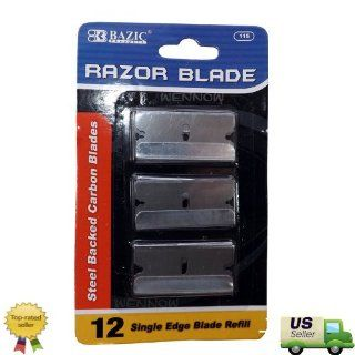 "WennoW� ""12 Single Edge Blade Refill: Computers & Accessories"