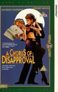 A Chorus of Disapproval [VHS]: Jeremy Irons, Anthony Hopkins, Richard Briers, Barbara Ferris, Gareth Hunt, Lionel Jeffries, Patsy Kensit, Alexandra Pigg, Prunella Scales, Jenny Seagrove, Sylvia Syms, Pete Lee Wilson, Alan Jones, Michael Winner, Chris Barne