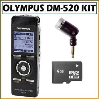Olympus DM 520 Digital Voice Recorder   DM520 Electronics