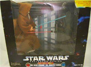 "Star Wars Obi Wan Kenobi vs. Darth Vader 12"" Action Figures Electronic Power FX Toys & Games"