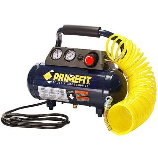 PrimeFit 1 Gallon, 125 PSI Home Workshop Air Compressor Tools