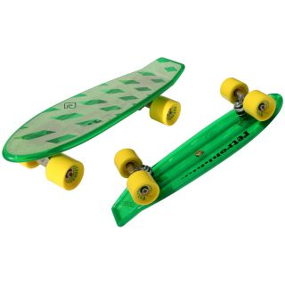 Atom 21 Mini Retroh Molded Skateboard   Choose Color, Green (91062)