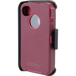 OTTERBOX Defender Series Hard Phone Case   iPhone 4/4S, Plum