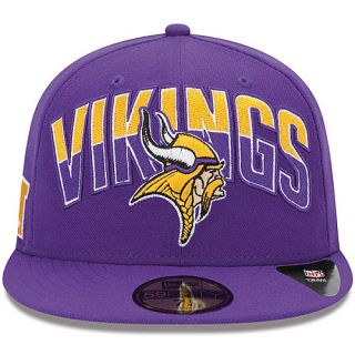 NEW ERA Mens Minnesota Vikings Draft 59FIFTY Fitted Cap Size 7.375 ... adcaa8da9