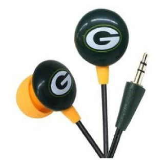 iHip Green Bay Packers Logo Earbuds (HPFBGBAEB)