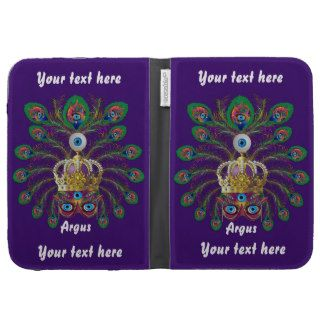 Mardi Gras Argos Argus Eyes Important view notes Kindle Case