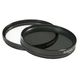 55Mm Ultra Violet And Circular Polarized Filter Twin Pack Threaded Mount Electronics