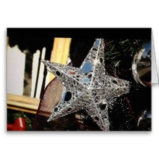 """YOU"" ARE MY SHINING STAR ROMANTIC CHRISTMAS GREETING CARDS"