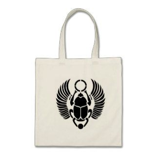 The Egyptian Scarab Beetle Tote Tote Bags