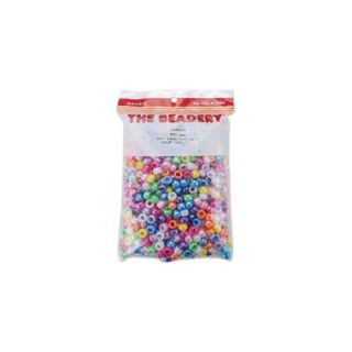 The Beadery Pony Beads 6x9mm, 900 Pack: Crafts