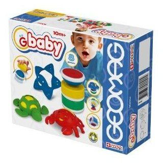 Toy / Game Geomag GBaby Baby Farm   8 pieces w/ Magnetic Shapes And Rubber Animals Well Suited for Teething: Toys & Games