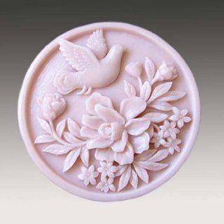 Piano Songbirds 50115 Craft Art Silicone Soap mold Craft Molds DIY Handmade soap molds