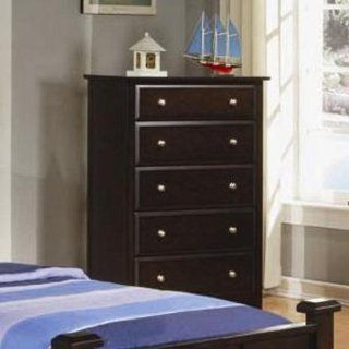 Brayden Chest in Cappuccino Finish by Coaster Furniture   Dressers
