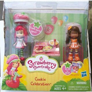 Strawberry Shortcake Cookie Celebration Mini Dolls Toys & Games