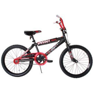 20 Next Wipe Out Boys BMX Bike, Gray/Red Kids Bikes & Riding Toys
